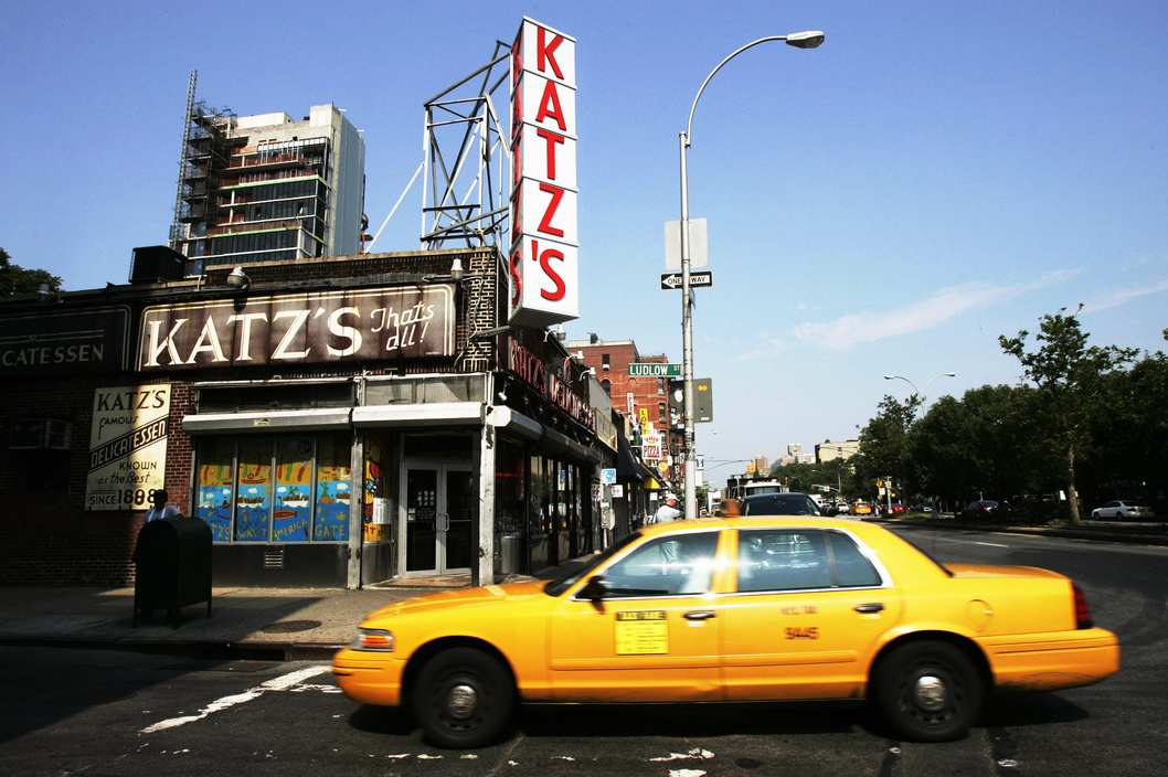 Katz's Delicatessen on the Lower East Side of Manhattan, 28 June 2007