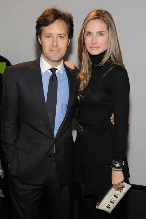 NEW YORK - FEBRUARY 17:  David Lauren and Lauren Bush attend the Ralph Lauren Fall 2011 fashion show during Mercedes-Benz Fashion Week at Skylight Studio on February 17, 2011 in New York City.  (Photo by Dimitrios Kambouris/WireImage)