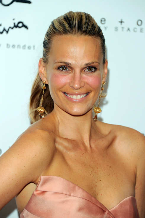 NEW YORK, NY - JUNE 15:  Molly Sims attends the 3rd annual Bent on Learning benefit at the Urban Zen Center At Stephan Weiss Studio on June 15, 2011 in New York City.  (Photo by Andrew H. Walker/Getty Images)