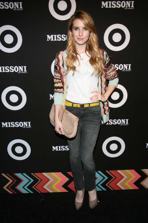 Emma Roberts attends the Missoni for Target Collection launch at the Missoni for Target Pop-Up Store on September 7, 2011 in New York City.