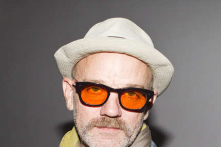 NEW YORK, NY - SEPTEMBER 11: Musician Michael Stipe attends the Patrick Ervell Spring 2012 fashion show during Mercedes-Benz Fashion Week at Milk Studios on September 11, 2011 in New York City. (Photo by Skip Bolen/WireImage)