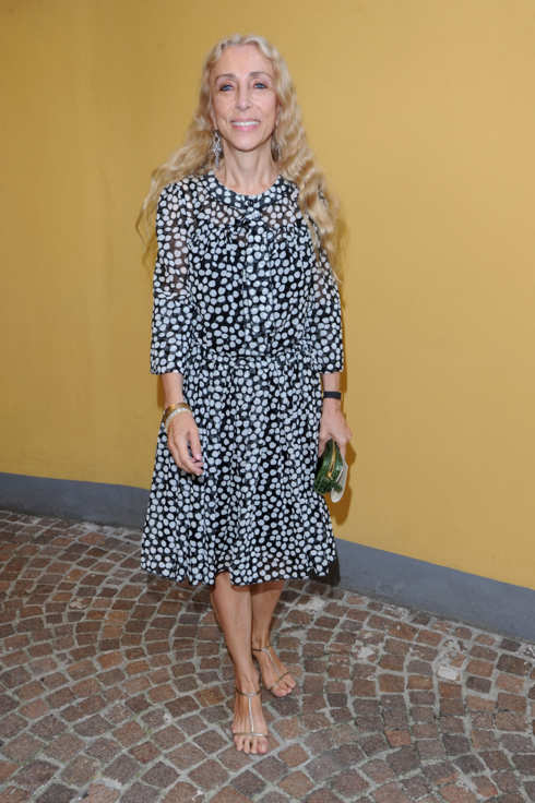 MILAN, ITALY - SEPTEMBER 22:  Franca Sozzani attend the Fendi Spring/Summer 2012 fashion show as part Milan Womenswear Fashion Week on September 22, 2011 in Milan, Italy.  (Photo by Venturelli/WireImage)