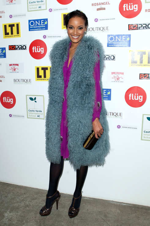 NEW YORK, NY - NOVEMBER 03:  Selita Ebanks attends the 401 Photography & Fashion auction at 401 West Street on November 3, 2011 in New York City.  (Photo by Dario Cantatore/Getty Images)