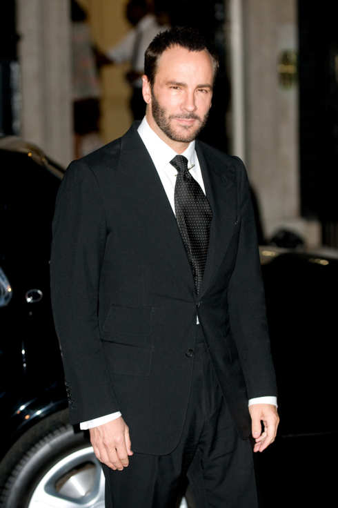 LONDON - ENGLAND - SEPTEMBER 20: Tom Ford attends a reception hosted by Samantha Cameron for London Fashion Week at 10 Downing Street on September 20, 2011 in London, England. (Photo by Samir Hussein/Getty Images)