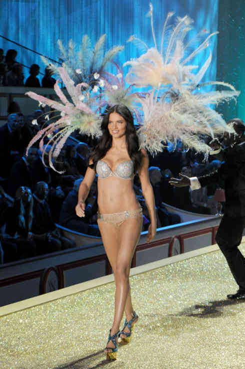 Adriana Lima==2010 VICTORIA'S SECRET Fashion Show - Runway==Lexington Armory, NYC==November 10, 2010==? Patrick McMullan==Photo - Nicholas Hunt / PatrickMcMullan.com====