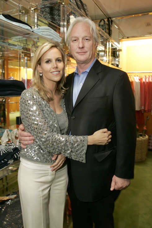 "Tory Burch and Chris Burch during Tory Burch Launches West Coast Store ""Tory by TRB"" at Tory by TRB in Los Angeles, California, United States. (Photo by Chris Weeks/WireImage)"