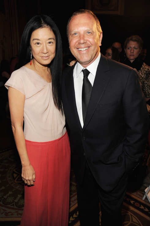 NEW YORK - APRIL 29:  (L-R) Desingers Vera Wang and Michael Kors attend The Breast Cancer Research Foundation Party sponsored by Blackberry and Verizon Wireless at Waldorf Astoria on April 29, 2009 in New York City.  (Photo by Kevin Mazur/WireImage)