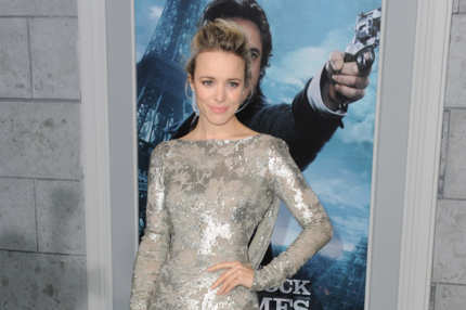 "WESTWOOD, CA - DECEMBER 06:  Actress Rachel McAdams arrives at the Los Angeles premiere of ""Sherlock Holmes: A Game Of Shadows"" at Regency Village Theatre on December 6, 2011 in Westwood, California."