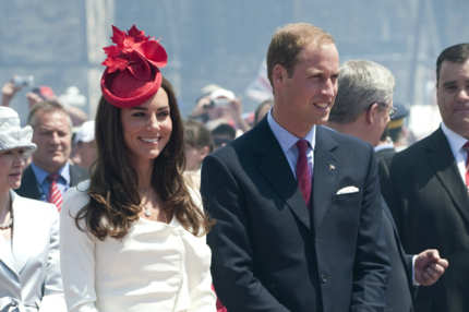 Catherine, Duchess of Cambridge and Prince William.