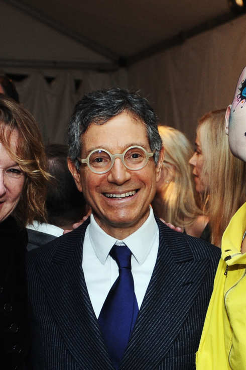 LOS ANGELES, CA - NOVEMBER 12:  (L-R) Hammer Museum Director Annie Philbin, MOCA director Jeffrey Deitch and Hahn-Bin attend 2011 MOCA Gala, An Artist's Life Manifesto, Directed by Marina Abramovic at MOCA Grand Avenue on November 12, 2011 in Los Angeles, California.  (Photo by Stefanie Keenan/Getty Images for MOCA)