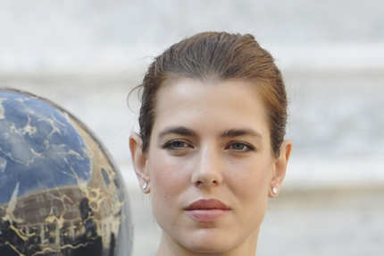 Charlotte Casiraghi attends the Monaco National Day Celebrations in the Monaco Palace Courtyard