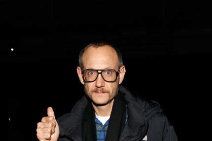 Photographer Terry Richardson attends the Alexander Wang fall 2012 fashion show
