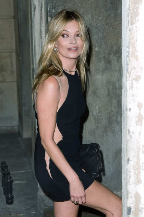 Kate Moss arrives for the Stella McCartney Special Presentation