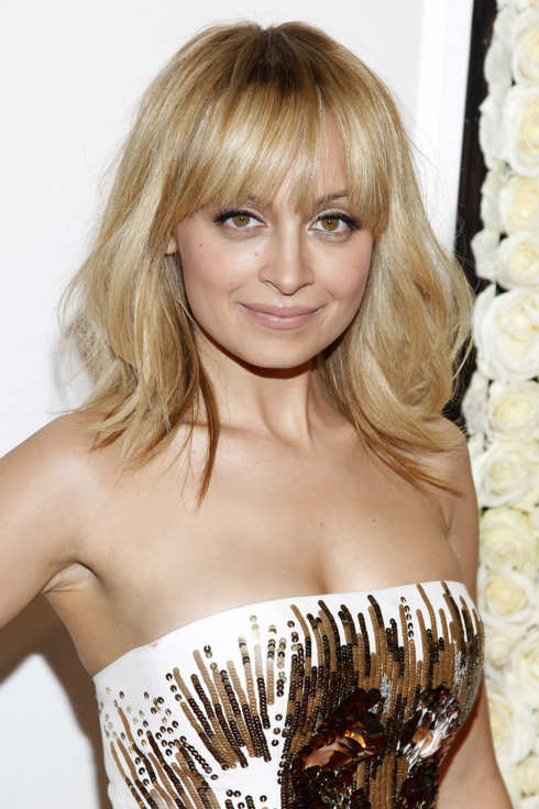 "Nicole Richie attends ""The Buzz On The Red Carpet at Four Seasons Hotel at Beverly Hills on February 23, 2012."