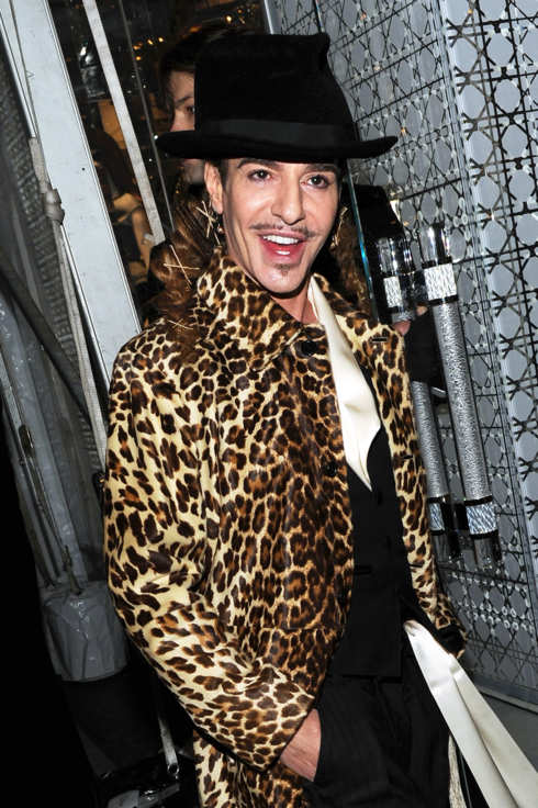 Designer John Galliano attends the Dior celebration of the reopening of its 57th Street Boutique at the LVMH Tower Magic Room on December 8, 2010 in New York City.