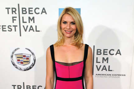 "Actress Claire Danes attends the ""Hysteria"" Premiere during the 2012 Tribeca Film Festival at the BMCC Tribeca PAC on April 23, 2012 in New York City."