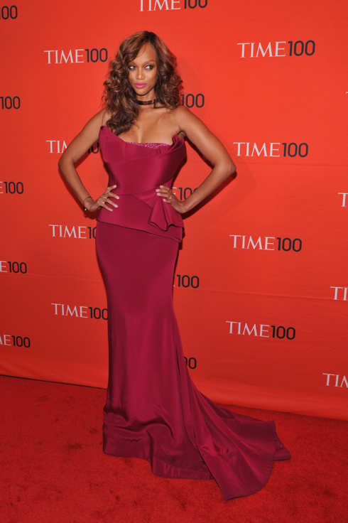 NEW YORK, NY - APRIL 24:  Tyra Banks attends the TIME 100 Gala celebrating TIME'S 100 Most Influential People In The World at Jazz at Lincoln Center on April 24, 2012 in New York City.  (Photo by Fernando Leon/Getty Images for TIME)