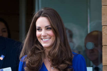 IPSWICH, ENGLAND - MARCH 19: Catherine, Duchess of Cambridge arrives to officially open The Treehouse Children's Hospice