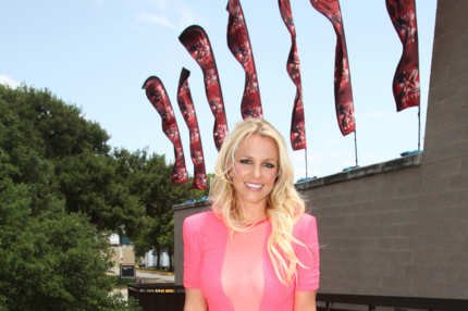 Here is new 'The X Factor USA' judge Britney Spears arriving for the first round of auditions in Austin, Texas, alongside fellow panelists Simon Cowell and LA Reid. The new panel of four swept into the Erwin Center for the first of two show tapings as crowds of fans cheered in excitement.<P>Pictured: Britney Spears<P><B>Ref: SPL397826  240512  </B><BR/>Picture by: Splash News<BR/></P><P><B>Splash News and Pictures</B><BR/>Los Angeles:	310-821-2666<BR/>New York:	212-619-2666<BR/>London:	870-934-2666<BR/>photodesk@splashnews.com<BR/></P>