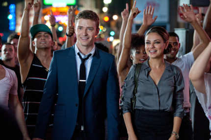 "Justin Timberlake as ""Dylan"" and Mila Kunis as ""Jamie"" in Screen Gems' FRIENDS WITH BENEFITS."