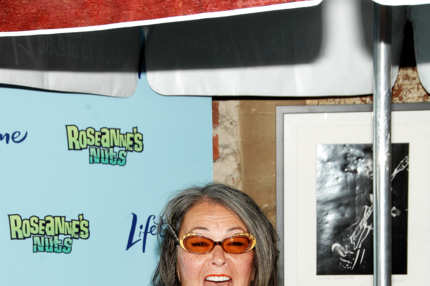 "NEW YORK, NY - JULY 13:  Roseanne Barr attends the ""Roseanne's Nuts"" event at Chelsea Market on July 13, 2011 in New York City.  (Photo by Marc Stamas/Getty Images)"