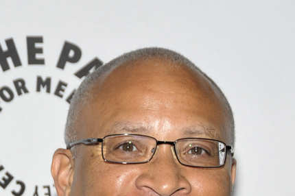 "BEVERLY HILLS, CA - AUGUST 01:  Writer/producer Larry Wilmore attends ""Exporting Raymond"" presented by the Paley Center For Media at The Paley Center For Media on August 1, 2011 in Beverly Hills, California.  (Photo by John M. Heller/Getty Images)"