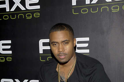 SOUTHAMPTON, NY - SEPTEMBER 04:  Nas Hosts Final Night of the Hamptons Season at AXE Lounge on September 4, 2011 in Southampton, New York.  (Photo by Eugene Gologursky/Getty Images for Axe)