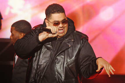 ATLANTA, GA - OCTOBER 01:  Heavy D performs at the BET Hip Hop Awards 2011 at Boisfeuillet Jones Atlanta Civic Center on October 1, 2011 in Atlanta, Georgia.  (Photo by Chris McKay/Getty Images)