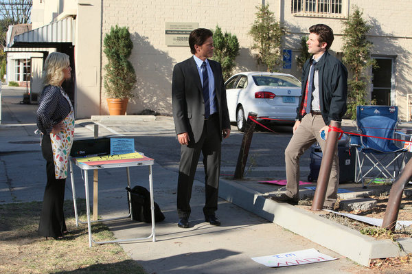 "PARKS AND RECREATION -- ""The Smallest Park"" Episode 408."