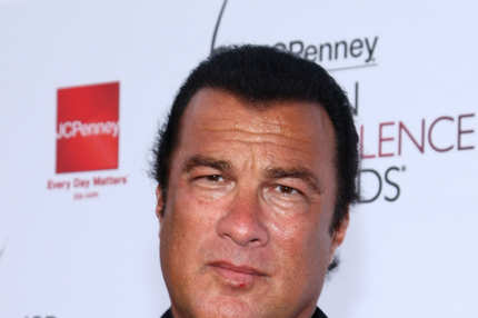 LOS ANGELES, CA - APRIL 23:  Actor Steven Seagal arrives at the 2008 JCPenney Asian Excellence Awards on April 23, 2008 in Los Angeles, California.  (Photo by Alberto E. Rodriguez/Getty Images)