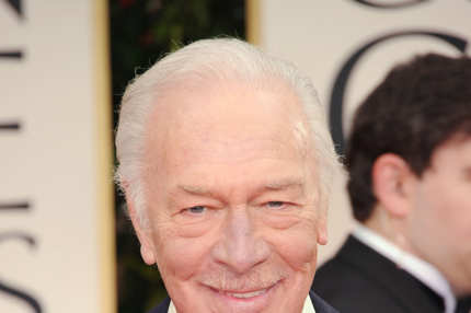 BEVERLY HILLS, CA - JANUARY 15: Actor Christopher Plummer arrives at the 69th Annual Golden Globe Awards held at the Beverly Hilton Hotel on January 15, 2012 in Beverly Hills, California.  (Photo by Jason Merritt/Getty Images)