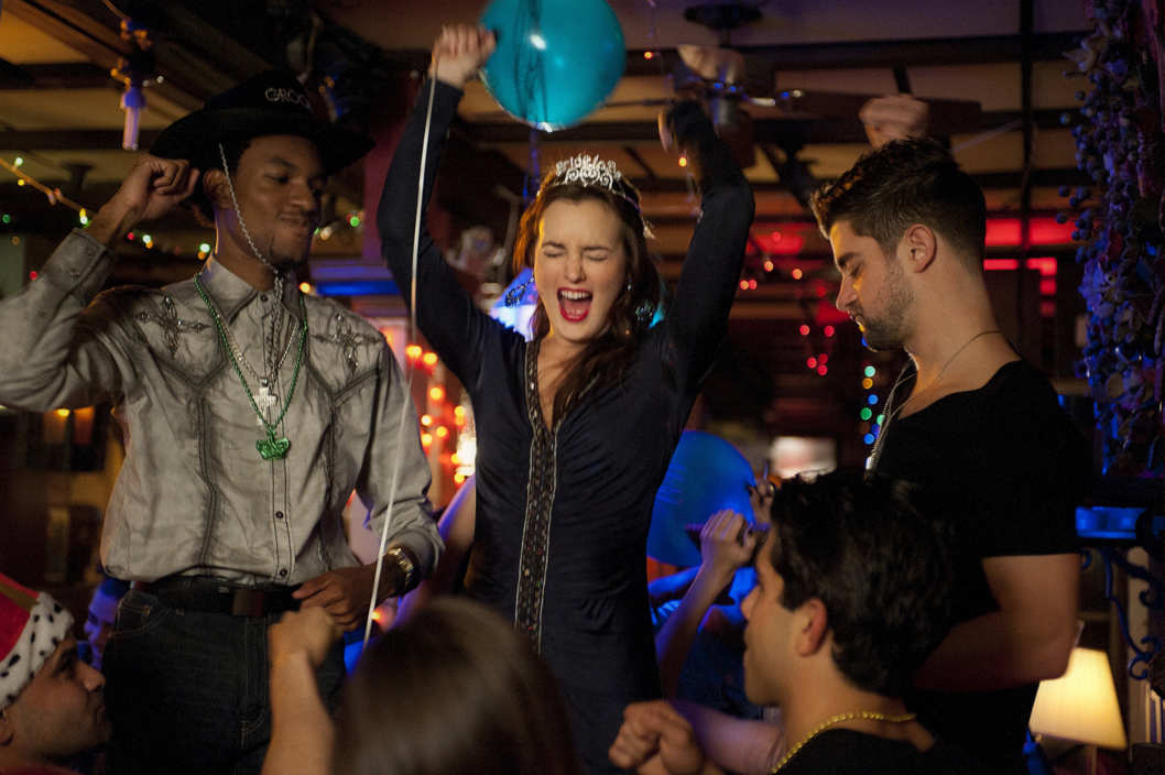 """Father And The Bride""GOSSIP GIRL Pictured Leighton Meester as Blair Waldorf."