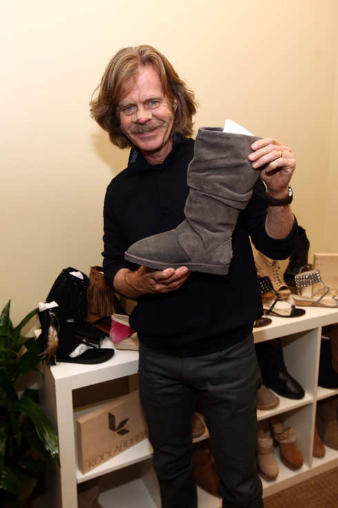 PARK CITY, UT - JANUARY 20:  Actor William H. Macy attends day 1 of Kari Feinstein's Style Lounge on January 20, 2012 in Park City, Utah.  (Photo by Barry Brecheisen/Getty Images for Kari Feinstein's Style Lounge)