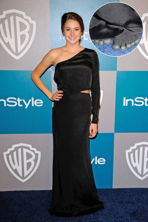 BEVERLY HILLS, CA - JANUARY 15:  Actress Shailene Woodley arrives at 13th Annual Warner Bros. and InStyle Golden Globe Awards After Party at The Beverly Hilton hotel on January 15, 2012 in Beverly Hills, California.  (Photo by Kevork Djansezian/Getty Images)