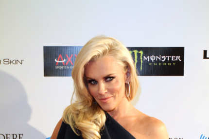 Jenny McCarthy attends the Ninth Annual Leather and Laces event
