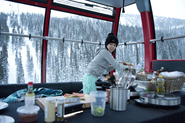 "TOP CHEF -- ""Culinary Games"" Episode 915 -- Pictured: Beverly Kim -- Photo by: Virginia Sherwood/Bravo"