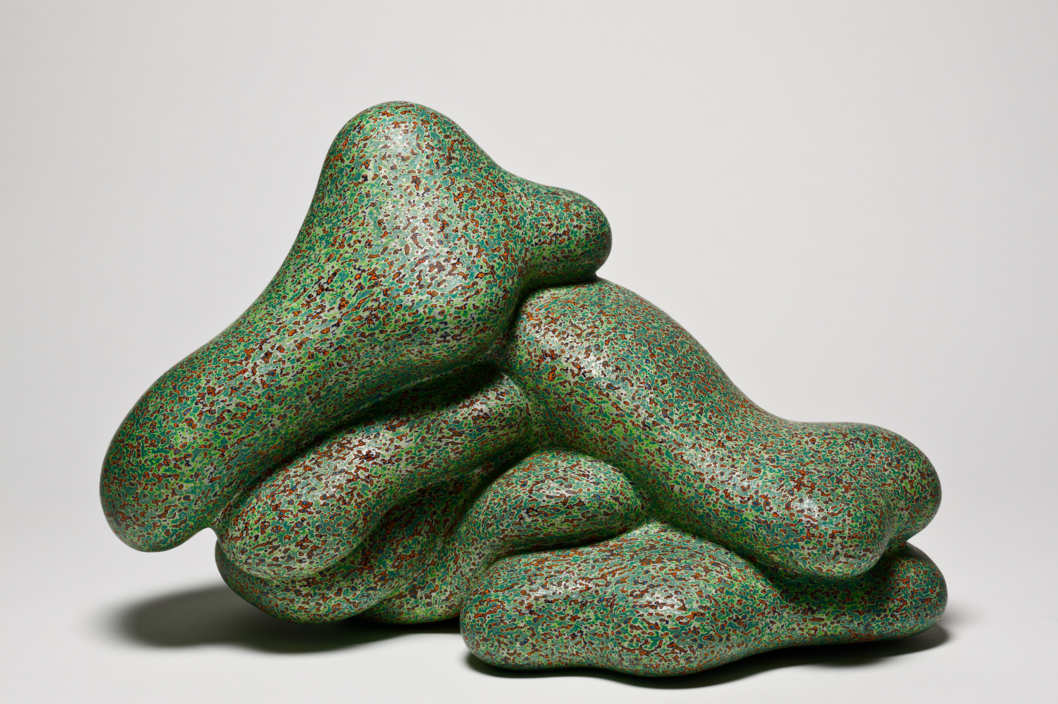 100% Pure, 2005, acrylic on fired clay, 12 ? x 19 x 11 inches, Frank and Berta Gehry, ? Ken Price, photograph ? Fredrik Nilsen, courtesy of the Los Angeles County Museum of Art