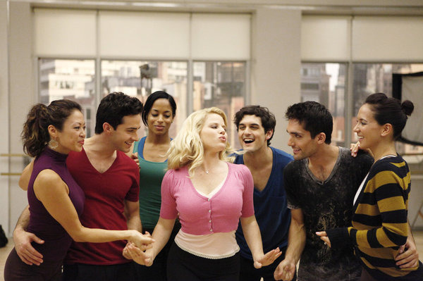 "SMASH -- ""The Cost of Art"" Episode 104 -- Pictured: Megan Hilty as Ivy Lynn -- (Photo by: Patrick Harbron/NBC)"