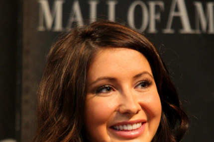 "BLOOMINGTON, MN - JUNE 29: Bristol Palin signs her book, ""Not Afraid of Life: My Journey So Far"" at the Best Buy Rotunda at Mall of America on June 29, 2011 in Bloomington, Minnesota.  (Photo by Adam Bettcher/Getty Images)"