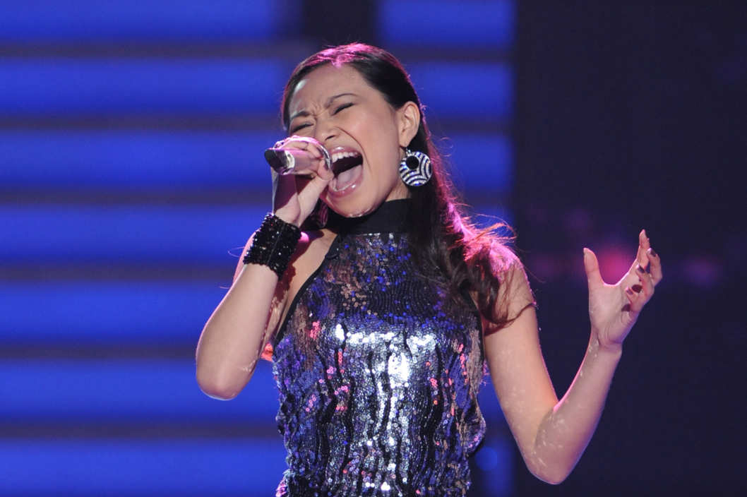 AMERICAN IDOL: Jessica Sanchez performs in front of the Judges on AMERICAN IDOL airing Wednesday, Feb. 29 (8:00-10:00 PM ET/PT) on FOX.