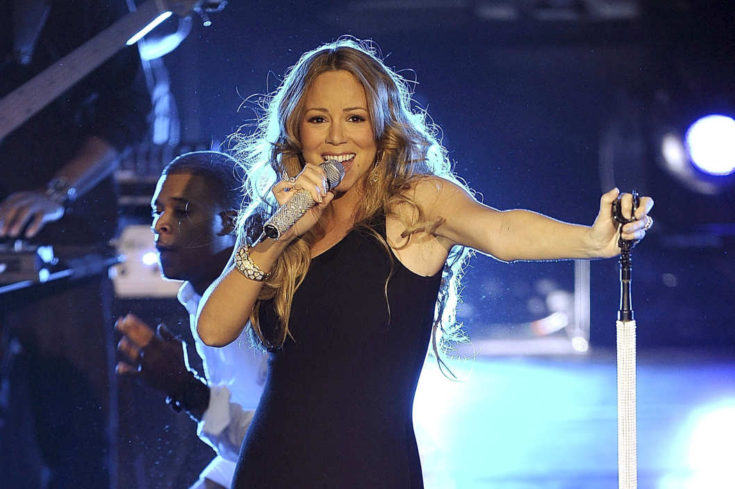 Mariah Carey performs during Escape To Total Rewards at Gotham Hall on March 1, 2012 in New York City.