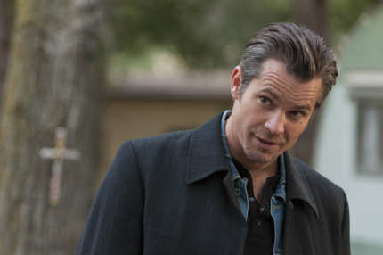 JUSTIFIED: Episode 6: When the Guns Come Out (Airs February 21, 10:00 pm e/p). Pictured: Timothy Olyphant. CR: Prashant Gupta / FX