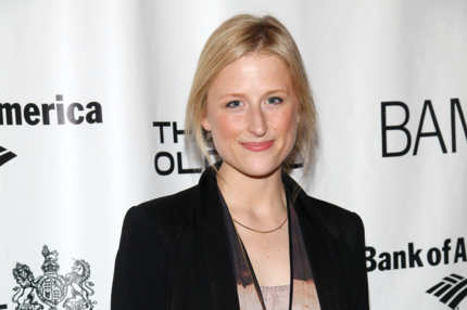 "Mamie Gummer attends the opening night of ""Richard III"" at the BAM Peter Jay Sharp Building on January 18, 2012 in New York City."