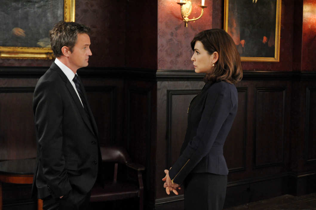 """Blue Ribbon Panel"" -- THE GOOD WIFE"