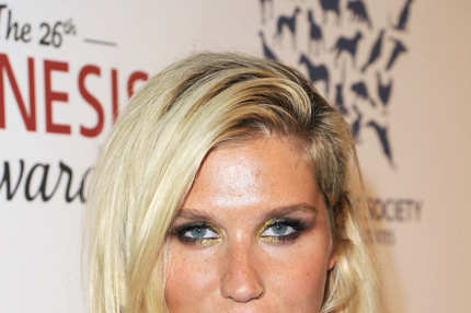 Ke$ha attends the 26th Genesis Awards