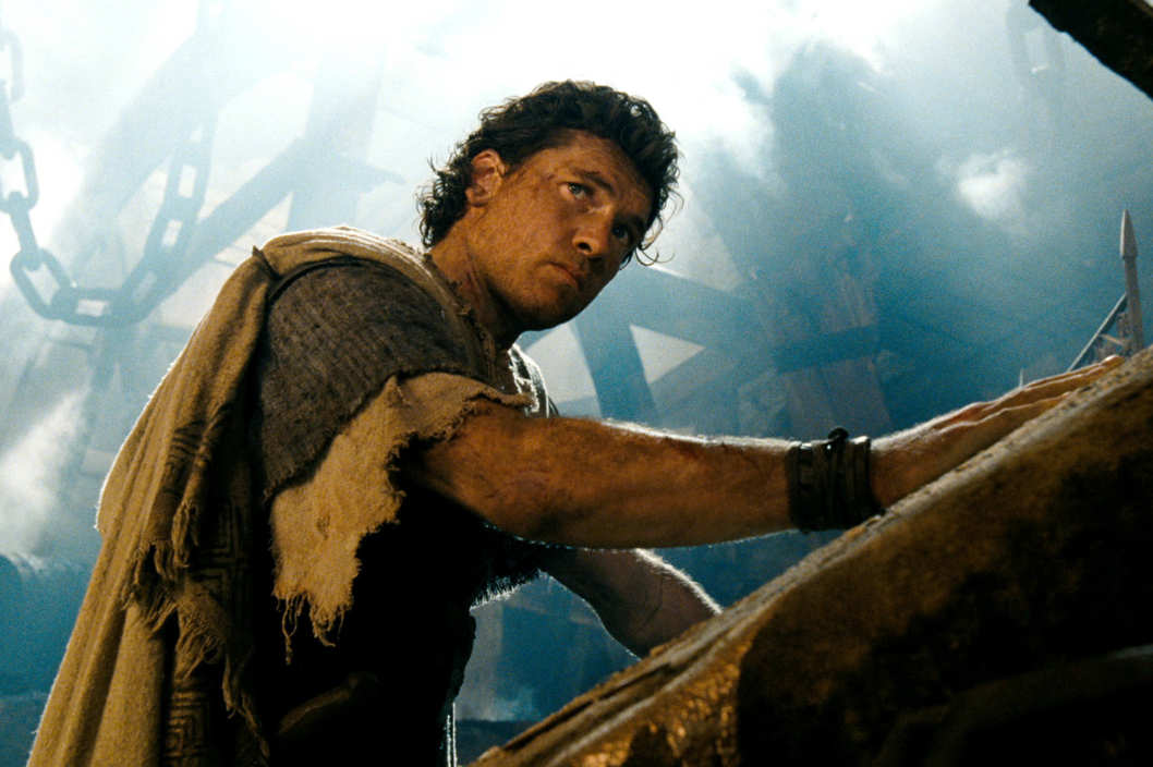 "SAM WORTHINGTON as Perseus in Warner Bros. Pictures' and Legendary Pictures' action adventure ""WRATH OF THE TITANS,"" a Warner Bros. Pictures release."