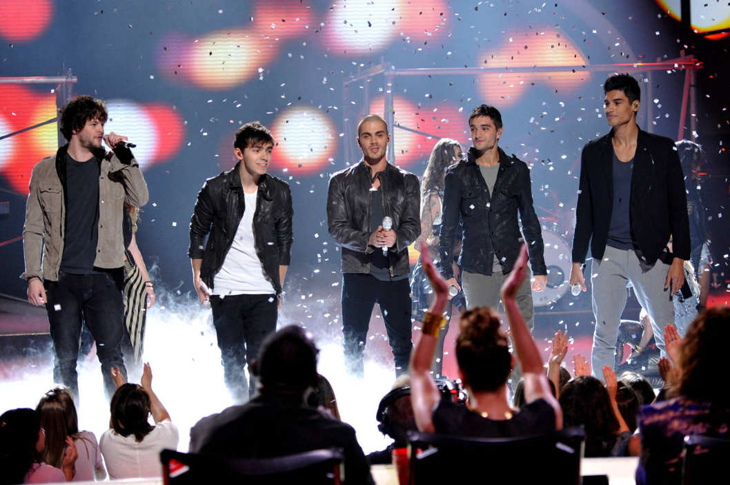 AMERICAN IDOL: The Wanted performs on AMERICAN IDOL airing Thursday, April 5 (8:00-9:00 PM ET/PT) on FOX. CR: Michael Becker / FOX.