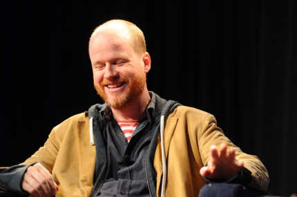 "AUSTIN, TX - MARCH 10:  Producer/Director/Writer Joss Whedon speaks at the ""A Conversation with Joss Whedon"" Panel during the 2012 SXSW Music, Film + Interactive Festival at Austin Convention Center on March 10, 2012 in Austin, Texas.  (Photo by Michael Buckner/Getty Images for SXSW)"