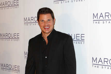 Nick Lachey arrives for the opening of Marquee at The Star