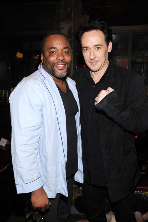 "Lee Daniels and John Cusack attend ""The Raven"" New York Red Carpet Screening After Party"
